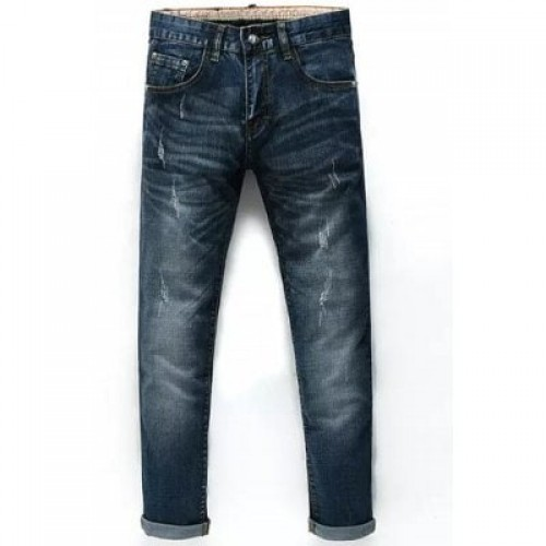 Taper Fit Cuffed Nine Minutes of Jeans