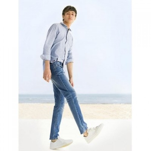 90FUN Trendy Casual Breathable Soft Jeans from Xia...